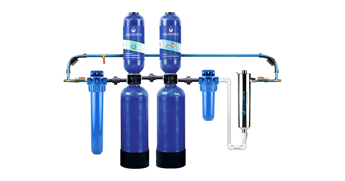 Aquasana EQ-1000-AST-UV-AMZN Whole House Water Filter System image