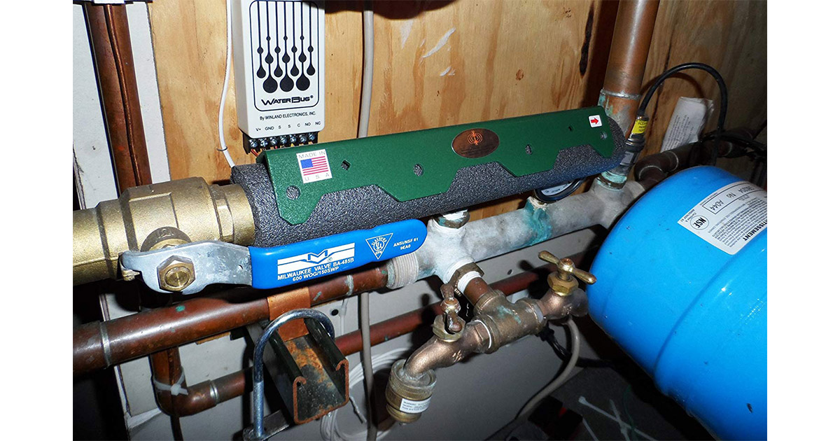 Magnetic Water Softener Conditioner Outback Model image