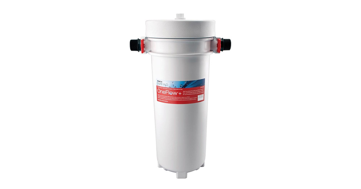 OneFlow Salt-Free Scale Prevention and Water Filtration System image