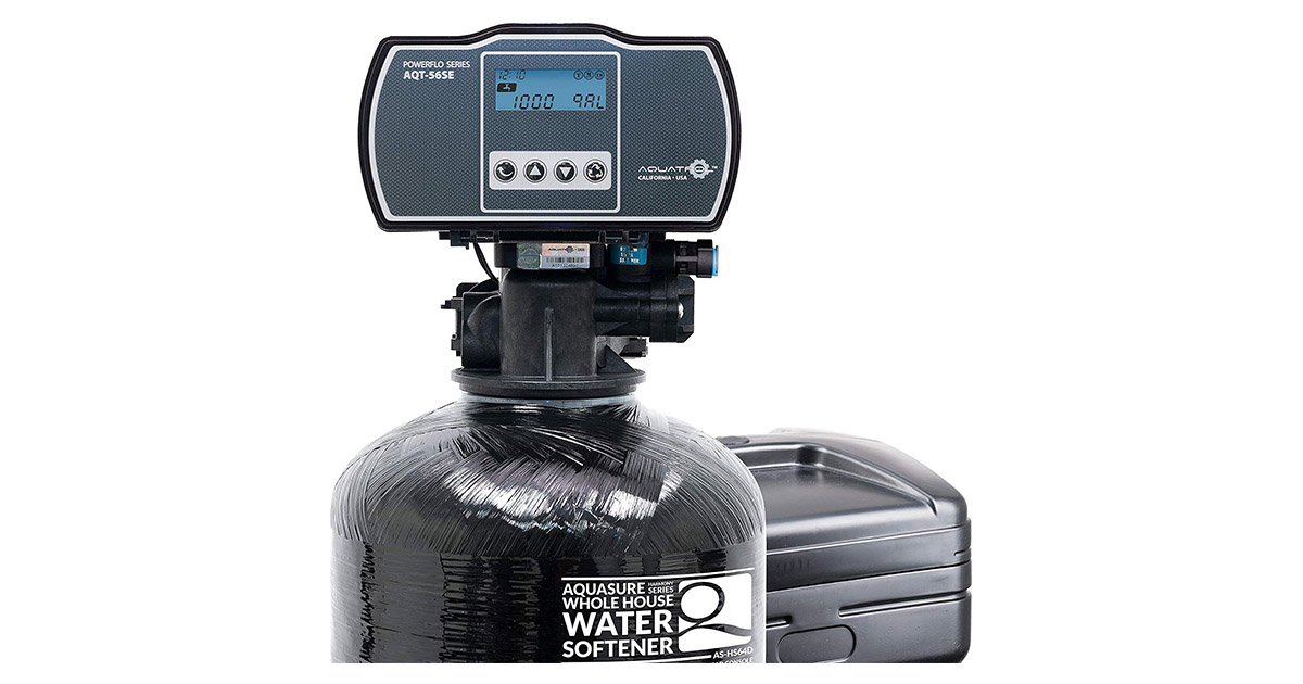 Aquasure AS-HS48D Harmony Series 48000-Grains Water Softener image