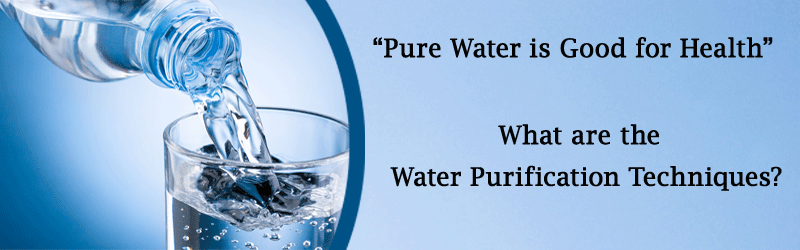 Water Purification Methods Image
