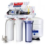 iSpring RCC7P-AK Boosted Performance Under Sink 6-Stage Reverse Osmosis Drinking Filtration System and Ultimate Water Softener image