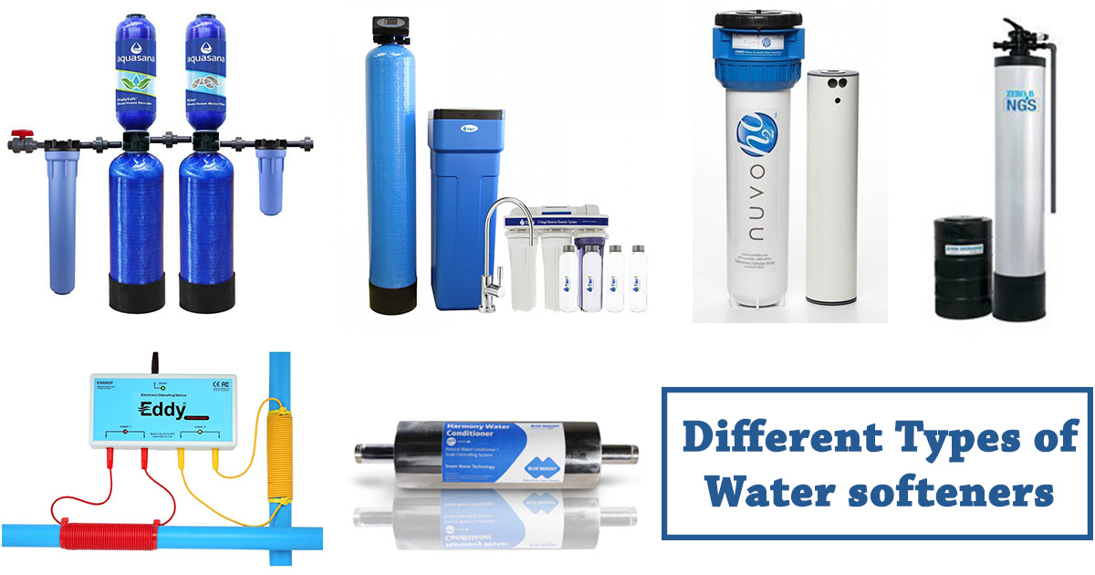 Types of Water Softeners image