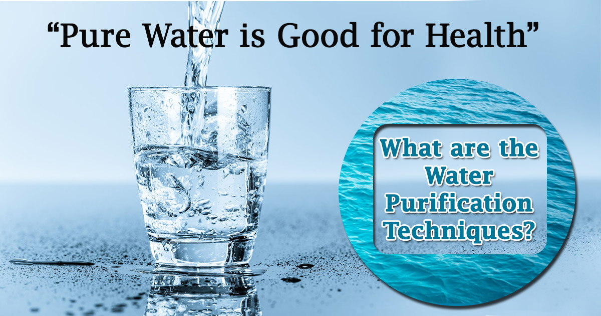 Water Purification Techniques image