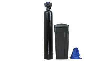 AFW Filters Built Fleck 48000 Water Softener – Reduces waste and saves salt using a flow meter!